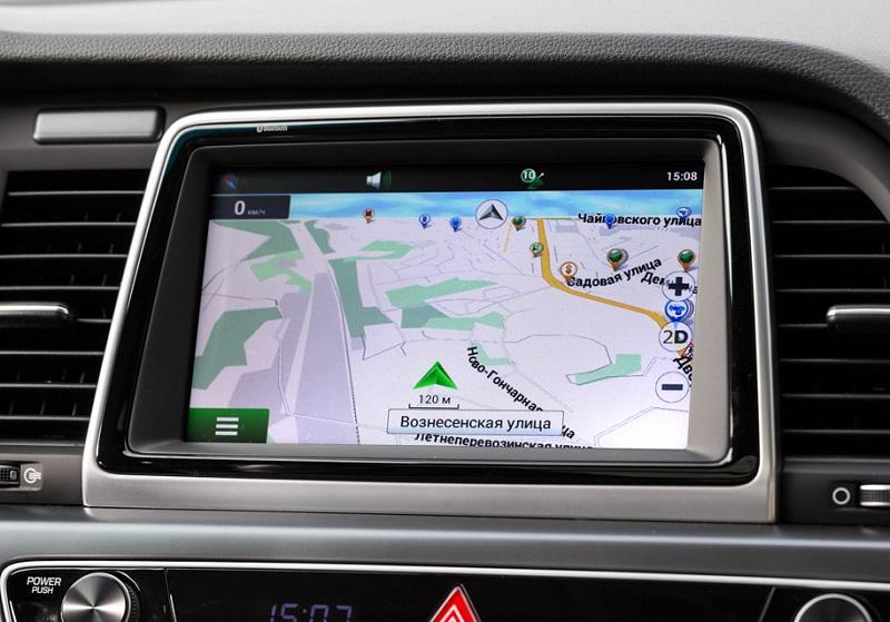 Магнитола Hyundai Sonata 7
